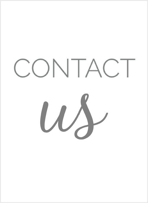 box that says contact us