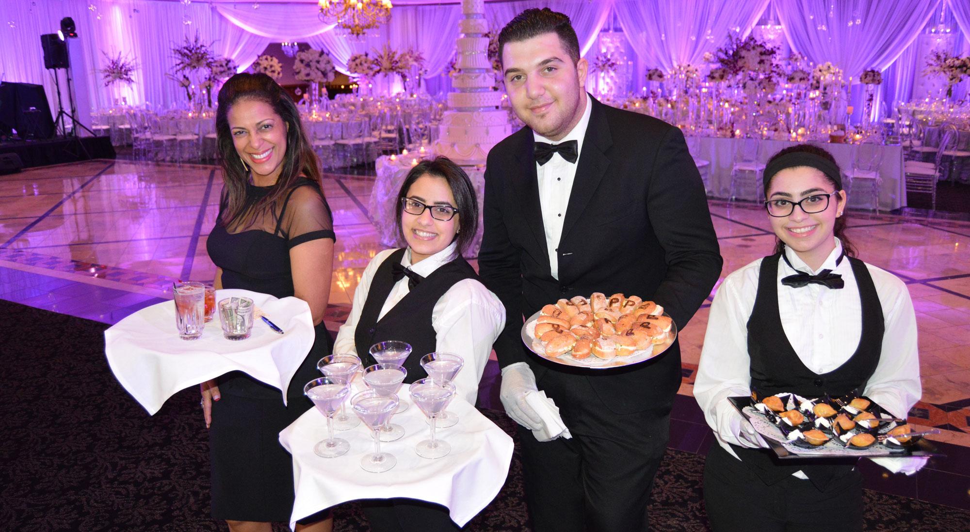 catering team at Petruzzello's