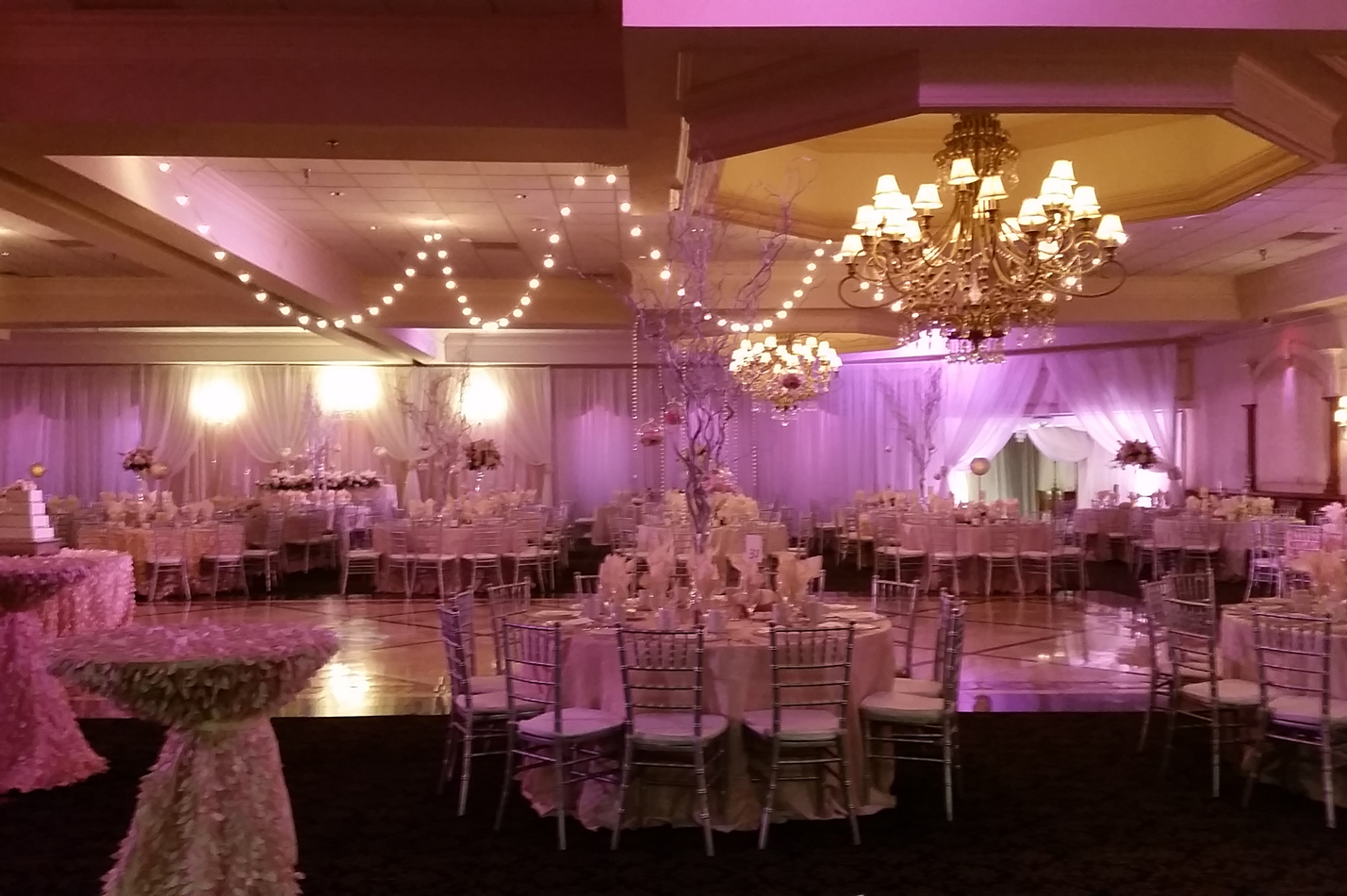 beautiful wedding in our grand ballroom