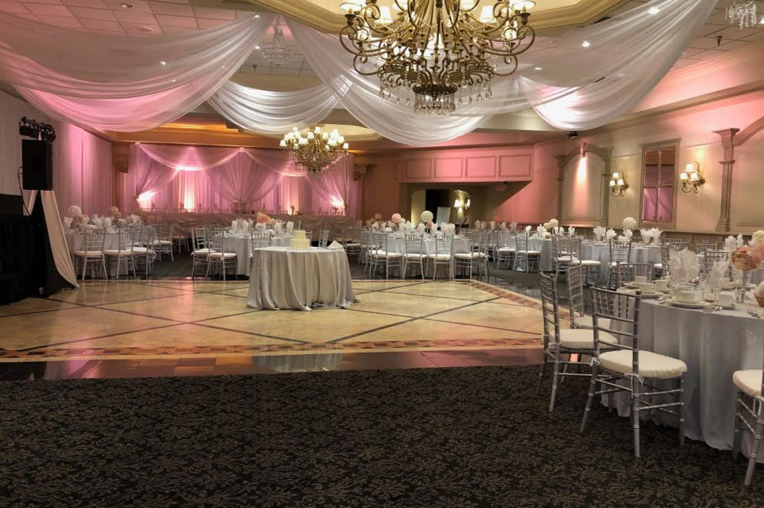 beautiful wedding at michigan venue